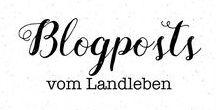 Blogposts vom Landleben / Auf vom-landleben.de blogge ich über unseren Hausbau mit Danhaus im skandinavischen Stil und den Garten, über Ausfluggstipps im Bergischen Land sowie über DIY und Fotografie