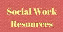 Social Work Resources {Group Board} / All things Social Work! Feel free to post social work-related resources. Send me an email at rachel@socialworkcommunity.com with your email address to be added as a contributor.