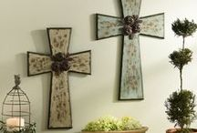 Gifts of Inspiration / Celebrate your faith with Kirkland's collection of religious and inspirational items  -- everything from decorative crosses and wall art to sentiment plaques and statues.