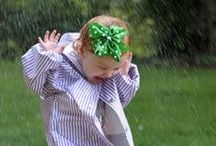 April Showers ☂ / There is something magical about the spring rain! / by Janine Renberg