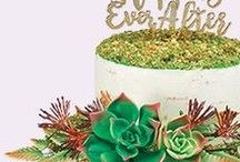 """""""I Do"""" Wedding Cakes / Make your bakery stand out with DecoPac's unforgettable wedding cake designs."""