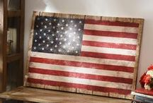 Americana Home Decor / Make your home look patriotic all year with Americana decor from Kirkland's. Find all the red, white, and blue decorations you need to celebrate the USA in style. / by Kirkland's Home Décor & Gifts