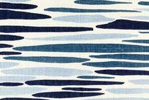 Fabrics + Wallpaper + Tile / dramatic + confident....always