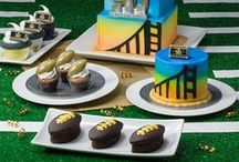 NFL Homegating Football Party / Get your bakery ready for NFL football season! From the die-hard fans to the occasional tailgater, everyone loves their game day sweets.