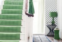 Entrances + Stairwells + Hallways / happy hellos start at the front door