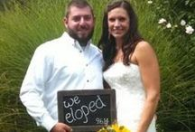 Elope in the Poconos / Ideas and info if you're thinking about it! Come to the Poconos - I'll create a wonderful ceremony for just the two of you!