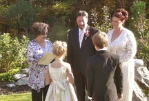 Kids & Family Weddings / If you are getting married and have children, its important to involve them in some meaningful way. Please consider including them beyond the usual flower girl or ring bearer. There is so much you can do to honor your family - whatever their ages!
