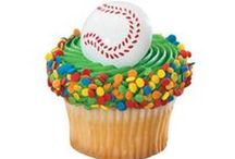 Sports-Themed Treats / DecoSet® cake toppers, DecoPic® cupcake picks, and other treats that are sure to be a hit with every sports fan in your bakery. Includes baseball, football, hockey, basketball, soccer, golf, cheerleading cakes and more.
