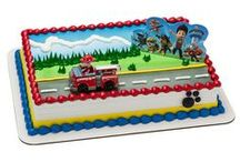 Planes, Trains, & Automobiles / Things that go vroom! These cake designs are popular for boy birthday cakes.