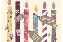 Birthday Greetings / Birthday wishes