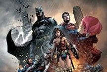 DC / DC Comics, DC Films, DCEU, Justice League, Batman, Superman, Wonder Woman