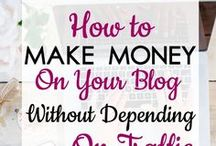 BLOGGING: Monetization / This board gives you all you need to know in order to start earning money from your blog. This includes blog income reports, every possible strategy to generate income from ads, and working with clients.