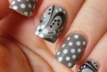 Unhas decoradas / Nail art, unhas decoradas, esmalte.