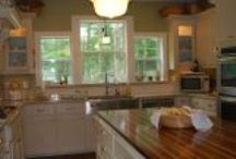 Dream Kitchen / A collection of ideas for the Farm Kitchen in the new Farm House my husband and I are building for us and our four children.