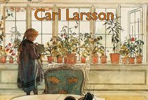 if I could draw... / through the hand & eyes of Carl Larsson...