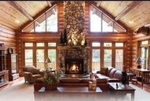 Fireplaces by Dickinson Homes / Pictures of fireplaces designed & built by Dickinson Homes