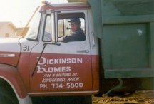 Vintage Dickinson Homes / Pictures from the past 4 decades