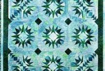 """Elisa Wilson's Back Porch Designs at KayeWood.com! / I am an avid quilter and designer. I have three mostly grown children and I live with my adorable husband along with our dog and cat. I started Backporch Design in 2000. Back then it was Backporch Dyeworks because I hand dyed a LOT of fabric. My specialty was dyeing the full spectrum of the color wheel. The business progressed to a retail shop, which was then sold to my sister-in-law. Now I am a """"designer"""" who designs patterns, books, templates and other items for quiltaholics. / by KayeWood.com"""