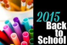 Back to School / Head back to school this fall with these money saving ideas, deals, easy recipes, lunchbox ideas, resources, and tips for a successful school year.