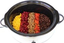 Easy Instant Pot/Slow Cooker/ Crockpot Recipes / Use your crock pot (slow cooker) to make meals easier and even save money.  Here you will find easy crockpot recipes, chicken crockpot recipes, easy dessert crockpot recipes and more.  All you need is a crockpot and a few ingredients to get started! Put dinner in and forget about it!