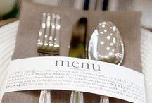 Table setting | Mise en place  / Mise en place | Set the table