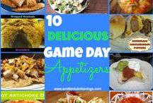 Game Day Recipes / Find recipes for Super Bowl parties, tailgating and all-around great appetizers to please a crowd.