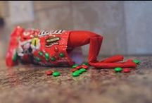 Elf on the Shelf / Elf on the Shelf ideas -- Find creative, funny, and slightly inappropriate ideas for Elf on the Shelf