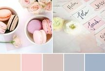 Pastel Wedding Ideas / Pastel Wedding Ideas, Spring Wedding Colors, Summer Wedding Colors, Wedding Inspiration