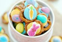 Holiday | Easter & Spring / Celebrate Easter with these Easter themed recipes for treats, crafts and activities, decorations and more.  easter; easter crafts; easter ideas; easter wreath; easter  bunny; easter bunnies; easter bunny wreath; easter bunny costume; easter bunny cake; easter baskets; easter basket ideas; diy easter baskets; easter baskets for kids / by Tatanisha Worthey