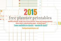 {list, plan, & organize!}