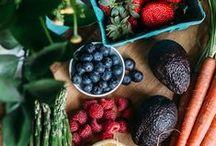 Fruits & Veggies / fresh and healthy
