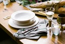 Gather Around the Table / Beautiful & Welcoming Table Settings
