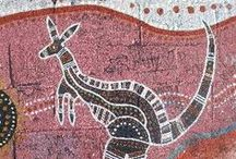 Tapestry, Batik, Aborigionea, Weaving, Wool & Thread / Carpets, sjawls and rugs made of fabric, its design.