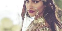 Indian inspired / Indian inspired fashion and style