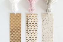 Bookmarks / Beautiful bookmarks