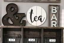 {coffee & tea bar}
