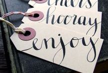 Labels & gift wrapping