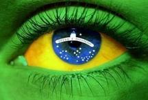 Brasil / Localizado na America do Sul ,com um povo acolhedor e natureza exuberante...este e o nosso BRASIL...fuiiiii