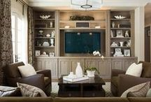 Family Room Ideas / by Mary Carpenter Miller