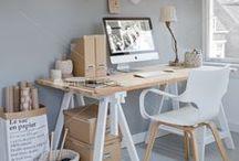 ✪ RUIMTES   Kantoor   Office ✪ / Inspiratie voor je kantoor of werkplek