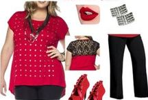 Trendy Plus Size Clothing Style Picks / Our style board showcases women's plus size fashion trends. WWW.FIGURESQUE.COM