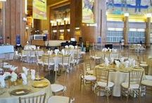 Cincinnati Museum Center / As virtually every area of Cincinnati Museum Center is available for private events, there is something for everyone. Lovely dining rooms with their original Art Deco appointments are the perfect backdrop for once-in-a-lifetime events such as weddings, anniversary parties and bar mitzvahs. McHale's Events and Catering is an exclusive caterer at Cincinnati Museum Center at Union Terminal.  / by McHale's Events and Catering