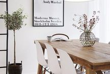 Room/ Dinning / Home decorating inspiration