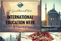 #GoAbroadChat on Twitter / Love travel chats on Twitter? Now you can chat with GoAbroad and international education and travel industry experts about a variety of topics related to meaningful travel. http://www.goabroad.com/blog/goabroadchat/