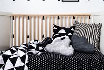 Rooms/ Monochrome kids / Black and white modern kids rooms, decor inspiration