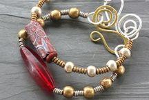 Jewelry Inspiration  / Jewelry beading wire work metal inspiration / by Pamela Crane