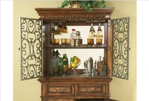 A pantry/bar hutch / by Michele P.