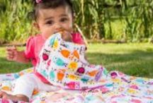 Baby Security Blanket / Just as soft as our Original Mimi, this little guy mesaure 14 x 14 to offer your child the easy and portable comfort of their little Mimi. Also great for burping, as Minky is stain resistant.