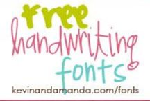 Font A Holic / by Pamela Crane