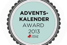 Adventskalender Award 2013 / We are looking for the best & most inspirational ideas! Our three favourites will be given our Adventskalendar 2013 Award :)  Email us if you'd like us to pin your image here - aktion(at)fashionforhome(dot)de